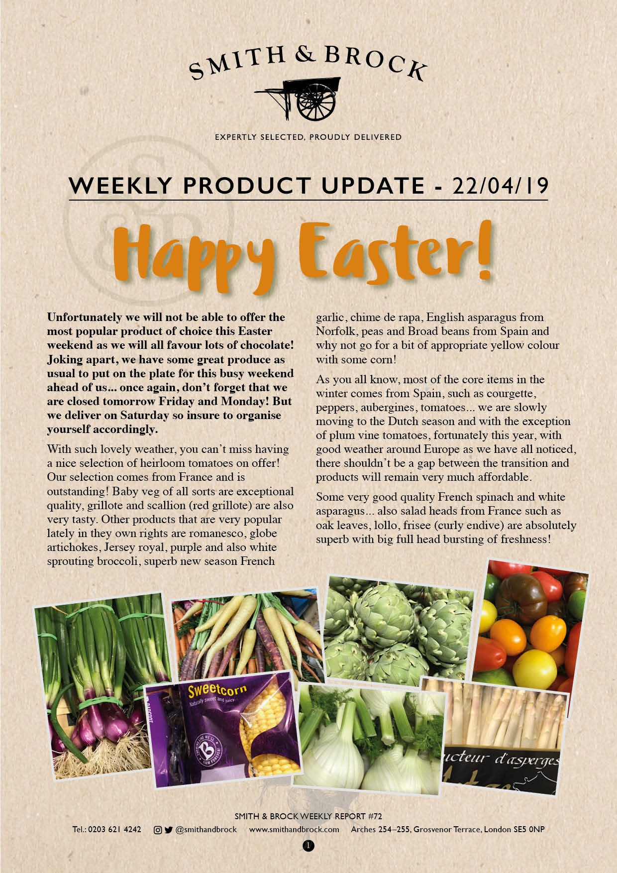 Smith&Brock Market Report 22 April 2019 72