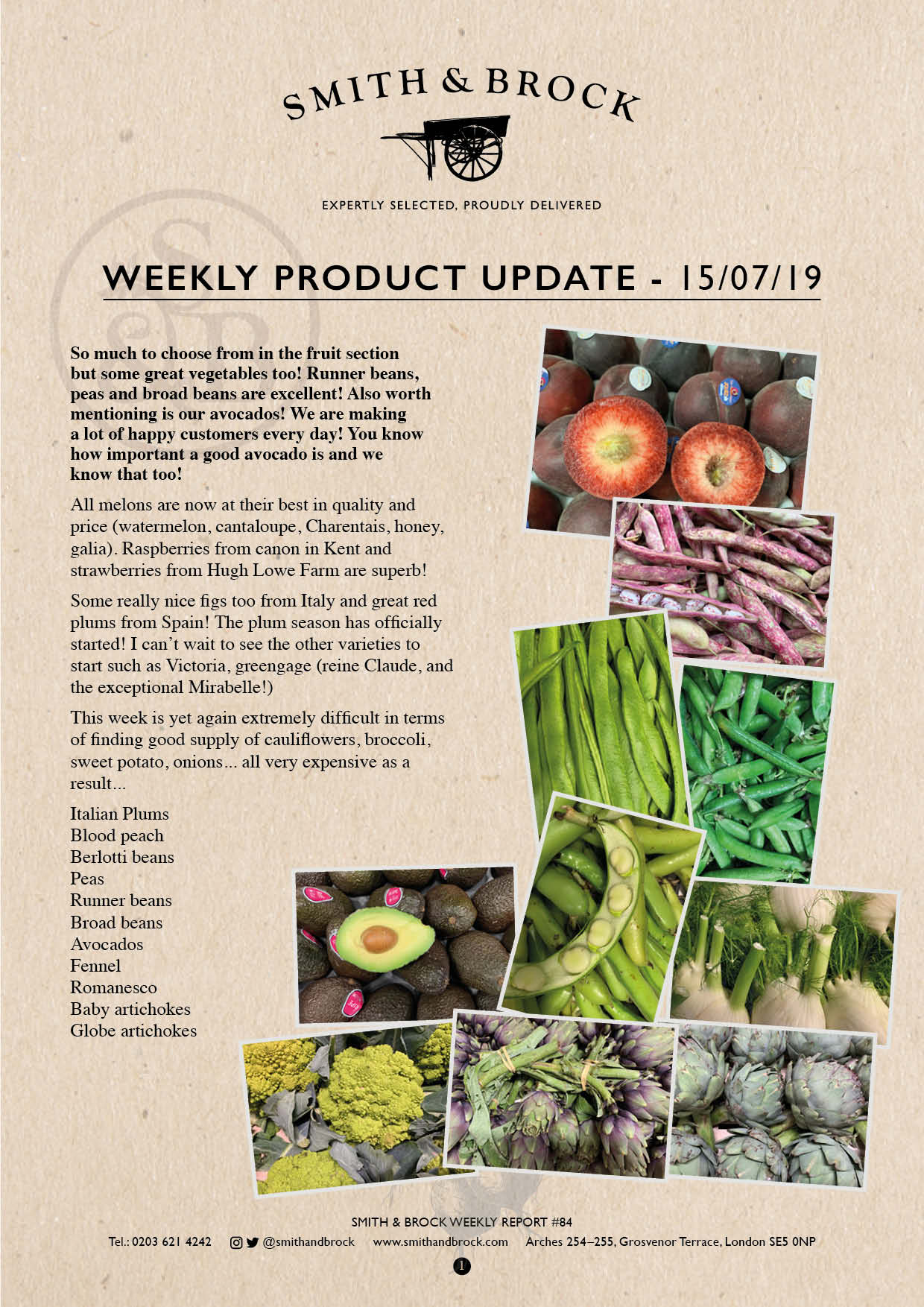 Smith&Brock Market Report 15 July 2019 84