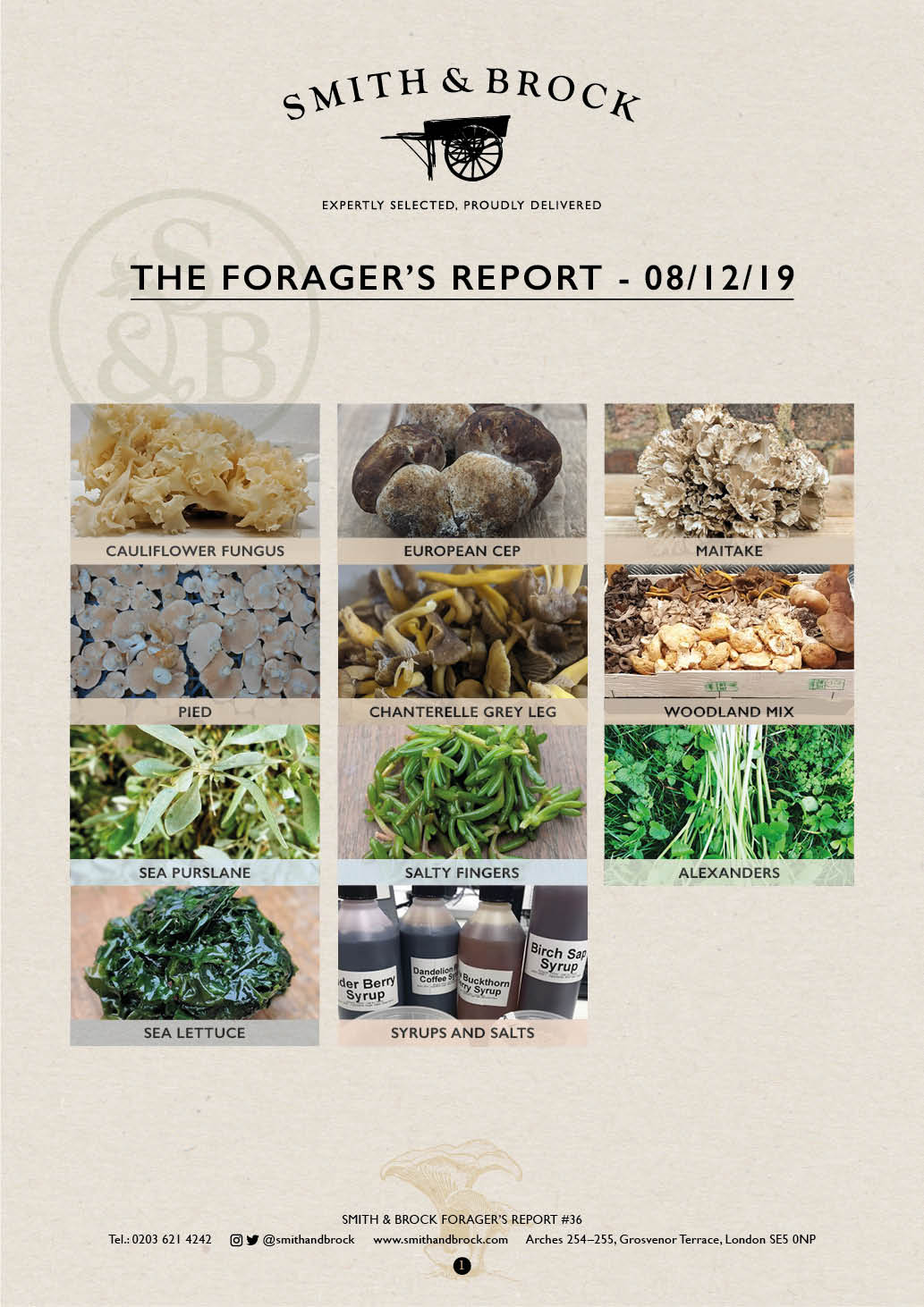 Smith&Brock Foraged Products Report 08 Dec 2019 36