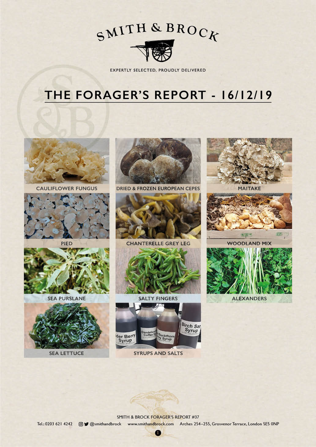 Smith&Brock Foraged Products Report 16 Dec 2019 37