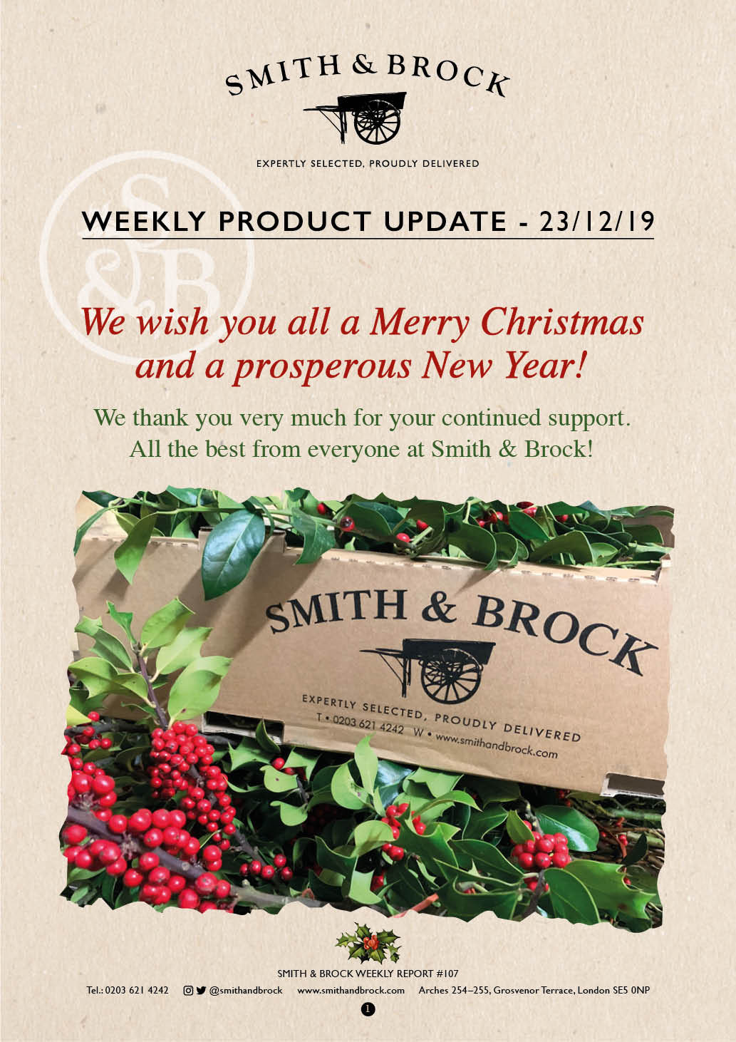 Smith&Brock Market Report 23 Dec 2019 107