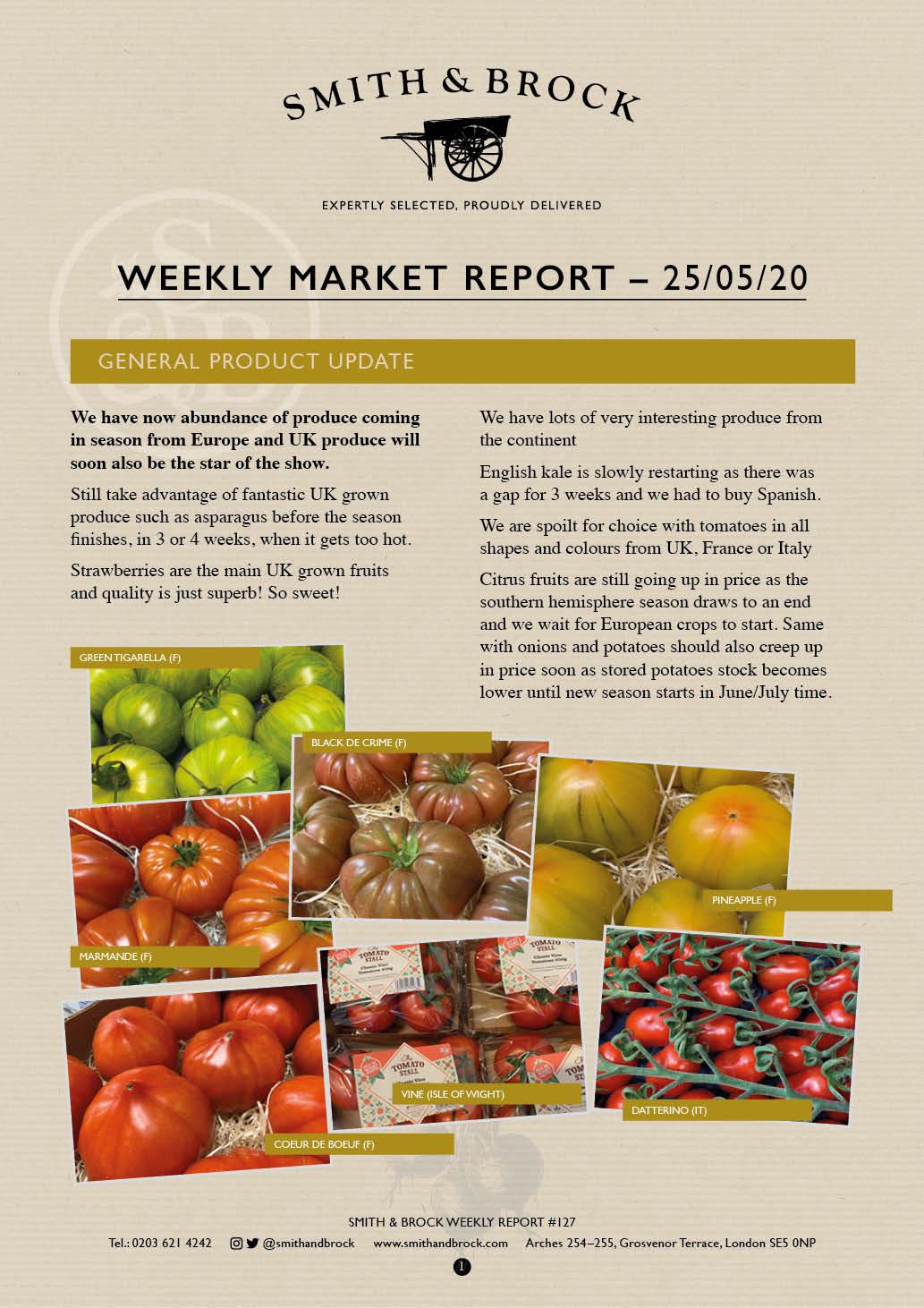 Smith&Brock Market Report 25 May 2020 127